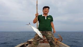"""Trải nghiệm """"ĐỘC"""": theo ngư dân Phú Quốc đi câu cá Thu"""
