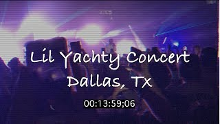 Lil Yachty concert (Dallas, Texas) 2017