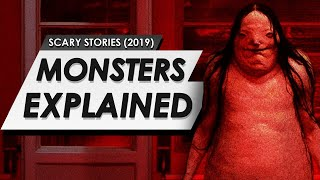 Scary Stories To Tell In The Dark Movie Monsters Explained | Everything You Need To Know