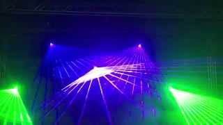 the amazing laser light show for Disco DJ Party Club stage light