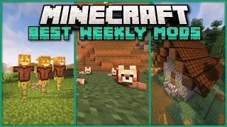 A Look at 20+ Interesting Mods Released over the Past Week for Minecraft 1.17.1 with Forge & Fabric