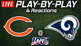 Bears vs Rams |  Live Play-By-Play & Reactions