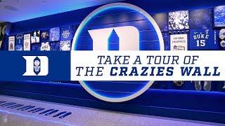 Grayson Allen & Brennan Besser Intro the Crazies Wall (1/13/18)