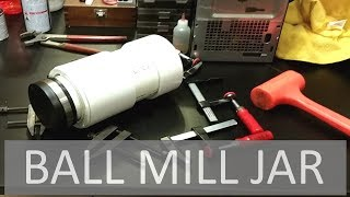 Making the Ultimate Ball Mill & Rotary Tumbler Jar! ELEMENTALMAKER
