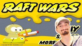 A WEB GAME CLASSIC! - RAFT WARS!! | JeromeASF
