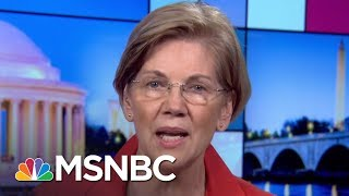 Elizabeth Warren: This Is Donald Trump Bringing His Chaos | Rachel Maddow | MSNBC