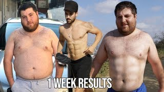 I WORKED OUT WITH JONAH FOR 1 WEEK AND THIS IS WHAT HAPPEND
