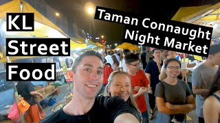 Kuala Lumpur Night Market Street Food Tour: Taman Connaught Market