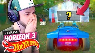 WE FOUND A SECRET CAR...! 🚗💨 - Forza Horizon 3 (HOT WHEELS DLC)