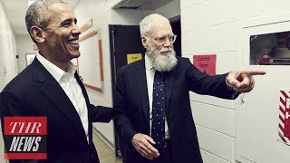 David Letterman's Netflix Talk Show Sets Obama as First Guest | THR News