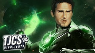 Tom Cruise Frontrunner For Green Lantern Rumors