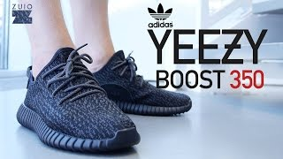 "Adidas Yeezy Boost 350 ""Pirate Black"" - On-Feet Review"