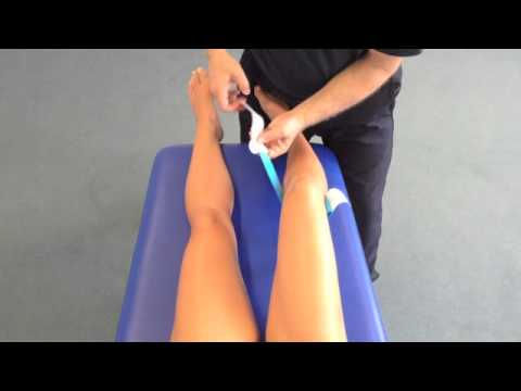 Taping for Knee Pain  from Kinesiology Taping, The Essential Step-by-Step Guide