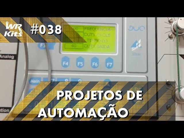 CONTROLE INTELIGENTE DE MOTOR DC COM CLP ALTUS DUO | Projetos de Automação #038