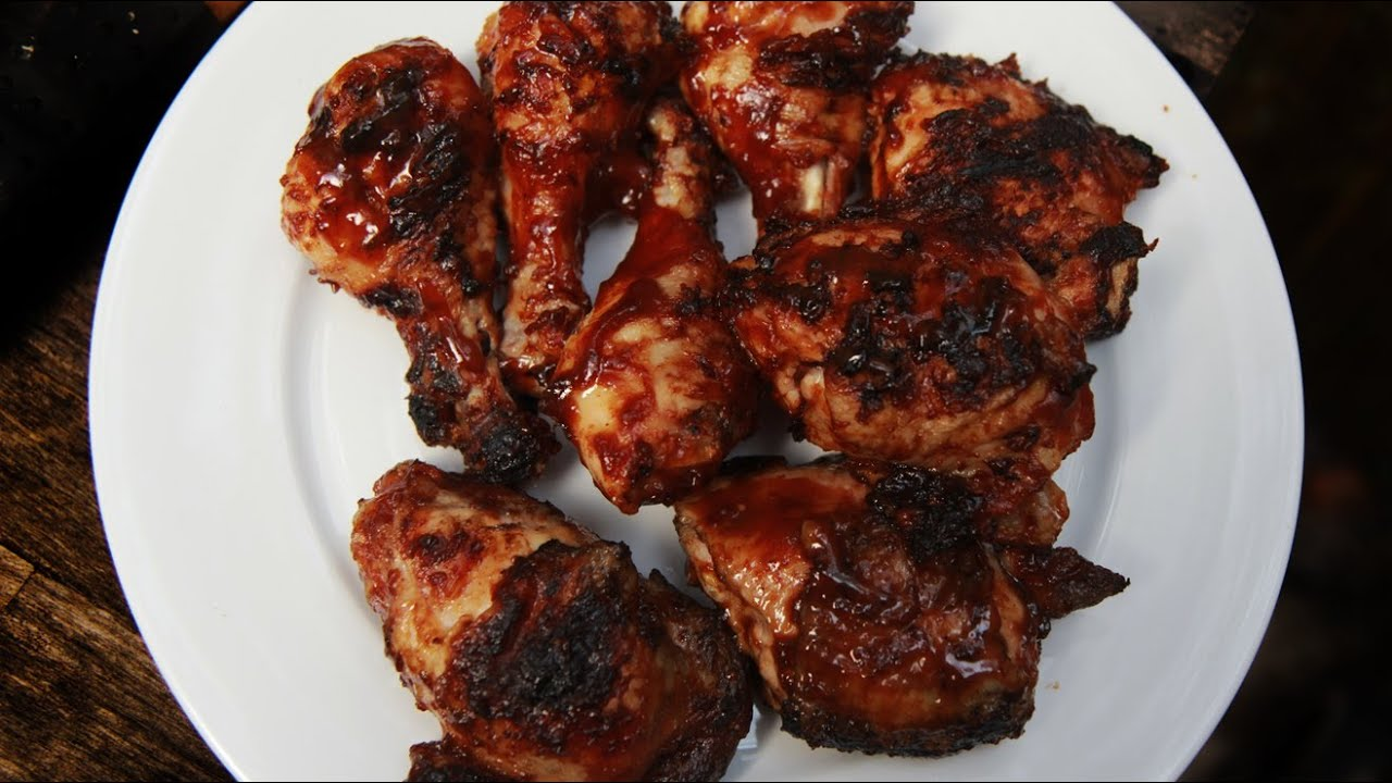 Perfect Tender Barbecue Chicken Recipe - YouTube