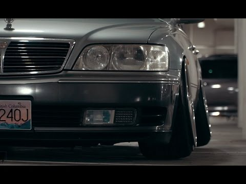 CAMBERED NISSAN CIMA // VANCOUVER ONIKYAN