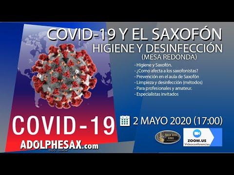 COVID-19 Y EL SAXOFÓN - Higiene, desinfección y prevención.