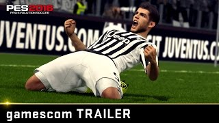 PES 2016 Gameplay Trailer - GC 2015
