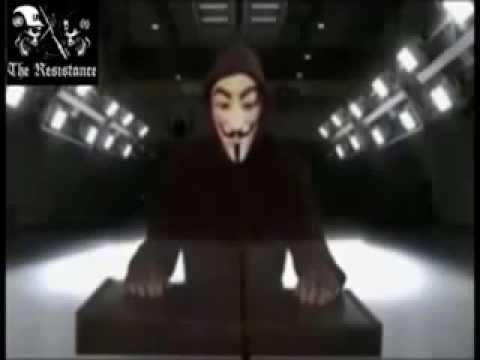 Anonymous Calls Overthrow the US Government