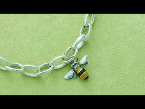 James Avery Changeable Charm Bracelet