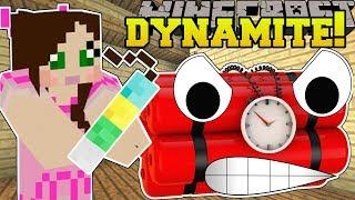 Minecraft: CRAZY DYNAMITE! (LUCKY DYNAMITE, DEATH TRAP DYNAMITE, & MORE!) Mod Showcase