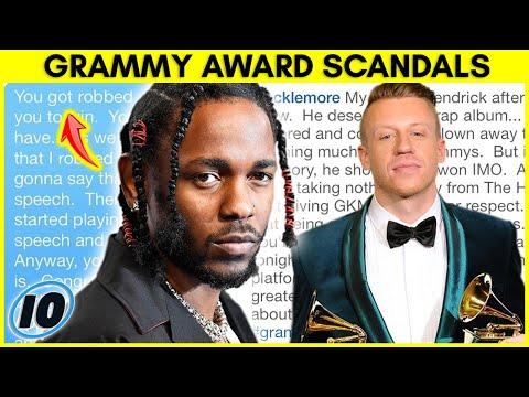 10-те најголеми скандали во историјата на доделувањето на Греми наградите
