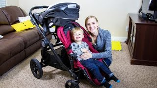City Select Double Stroller Review!