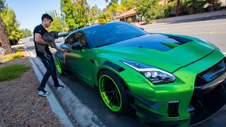Picking Up TAXI Riders In A 1000HP GTR!