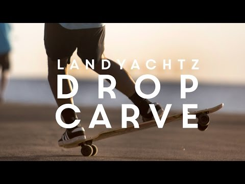 "Video LANDYACHTZ Longboard Complete DROP CARVE 40"" Desert Tiger"