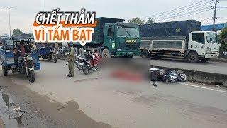 Chỉ vì tấm bạt, một người chết thảm trên quốc lộ