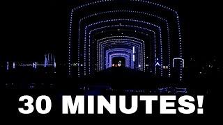 COMPLETE 30 Minute Drive Through Coney Island Cincinnati Christmas Nights of Lights