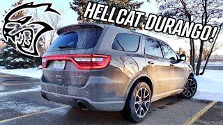 Living With a $90,000 Dodge Durango HELLCAT!!