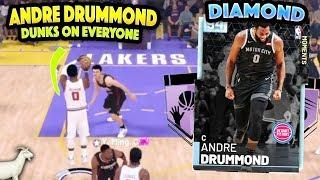 FREE DIAMOND ANDRE DRUMMOND DESTROYS PD YAO MING!! DUNKS ON EVERYONE!! NBA 2K19