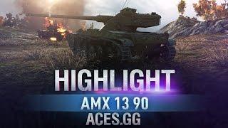 На волоске. AMX 13 90