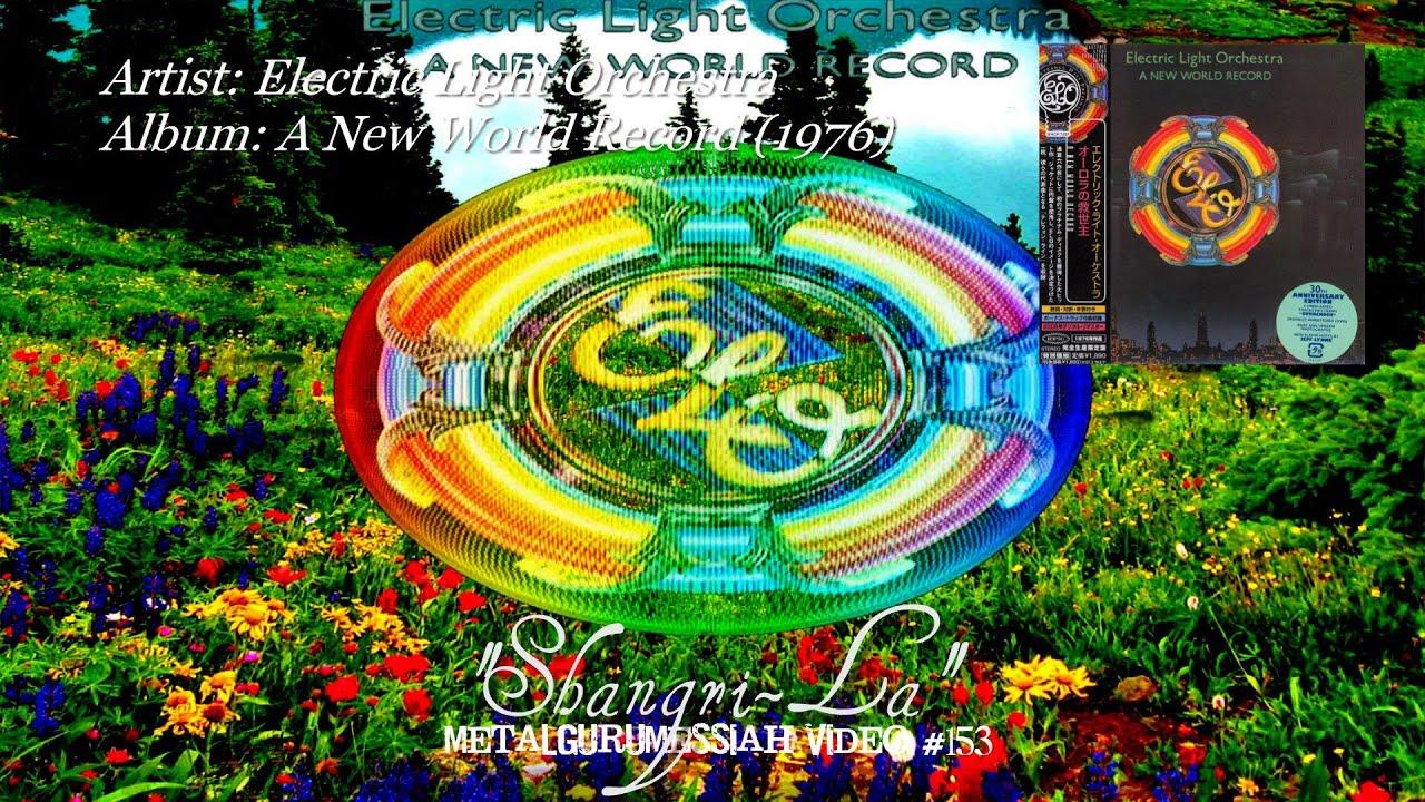 Shangri La Electric Light Orchestra 1976 Youtube