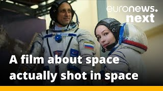 Shooting for the stars: This Russian duo are set to make the first feature film in space
