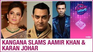 Actress Kangana slams Aamir Khan, demands Centre take back..