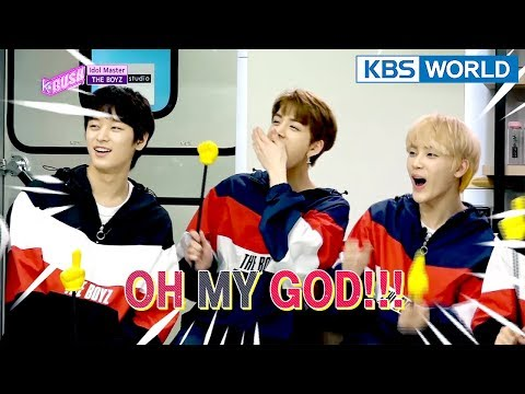 Idol Master - THE BOYZ [KBS World Idol Show K-RUSH3 / ENG,CHN / 2018.04.20]