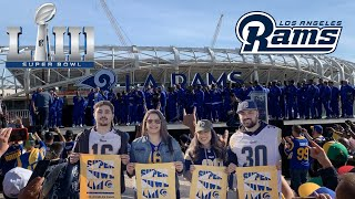 Los Angeles Rams Super Bowl LIII Rally!