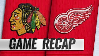 Kane's OT goal helps Blackhawks top Red Wings