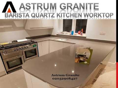 Best Barista Quartz Kitchen Worktop in London UK - Astrum Granite | Call 02032908427
