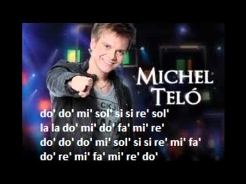 Ai Se Eu Te Pego flauta dulce notas - Partitura - Michel Telo - Recorder - Score