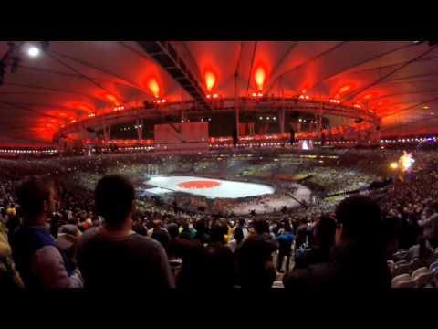#Rio2016 Ceremonia Clausura desde la tribuna