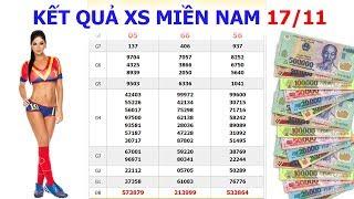 XSMN 17 11 - Xổ Số Miền Nam 17 11 - XSVL 17 11 - XSBD 17 11 - XSTV 17 11