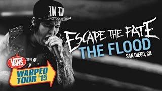 """Escape The Fate - """"The Flood"""" LIVE! Vans Warped Tour 2015"""