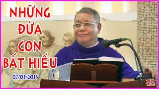 Những Đứa Con Bất Hiếu - Lm Giuse Lê Quang Uy - Tĩnh Tâm Mùa Chay - Giáo xứ Tân Phước