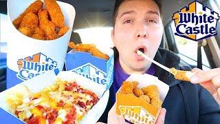 White Castle • Car Eating Show • MUKBANG