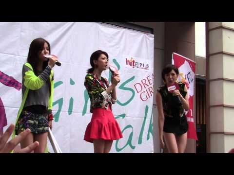 130203 Dream Girls - 愛情微波爐 慶功加場簽唱會 @豊原 SOGO