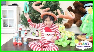 Christmas Morning 2017 Family Games and Toys with Ryan's Family Review