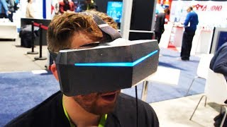 Pimax 8K Hands On Review - The Best VR Experience?